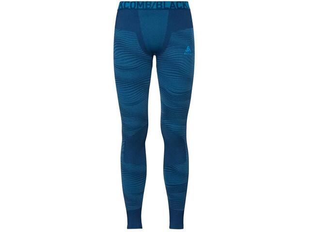 Odlo Suw Performance Blackcomb Bottom Pants Herren poseidon-blue jewel-atomic blue
